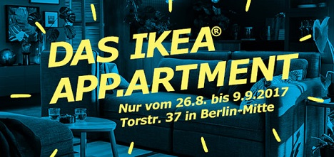 ikea berlin und initialwerk inszenieren ikea app artment news cp monitor. Black Bedroom Furniture Sets. Home Design Ideas