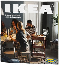 entworfen f r dich nicht f r irgendwen ikea katalog 2017 setzt auf content marketing medien. Black Bedroom Furniture Sets. Home Design Ideas