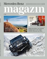 mercedes-benz magazin erscheint mit neuem konzept