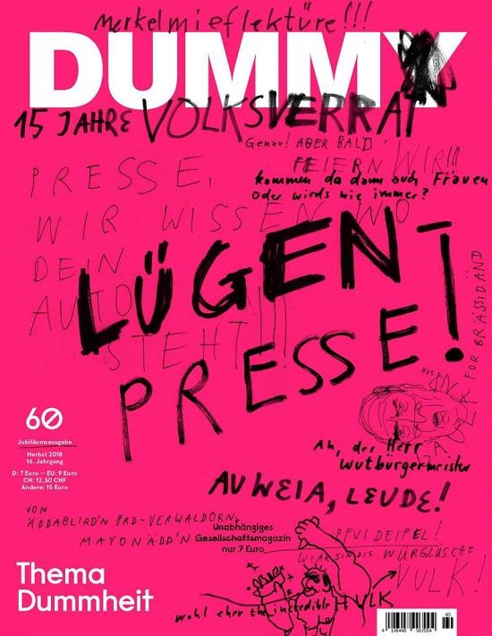 Cover Des Monats Oktober 2018 Dummheit Gewinnt